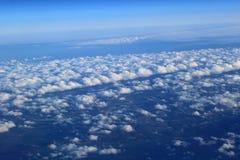 Rues de nuage photo libre de droits