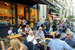 Rues de Paris Image stock