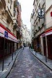 Rues de Paris Images libres de droits