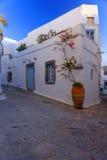 Rues de Patmos Photo libre de droits