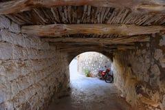 Rues de Patmos photographie stock libre de droits