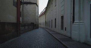 Rues de Prague, République Tchèque banque de vidéos