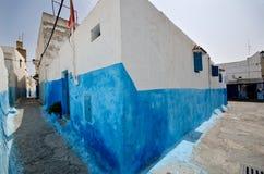 Rues de Rabat, Maroc Photographie stock libre de droits
