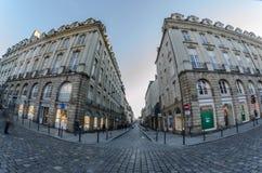 Rues de Rennes - Bretagne Image libre de droits
