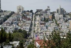 Rues de San Francisco, la Californie Photographie stock