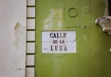 Rues de San Juan, Porto Rico Images stock