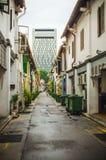 Rues de Singapour image libre de droits
