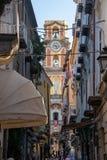 Rues de Sorrente, Italie images libres de droits