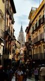 Rues de Toledo Image libre de droits