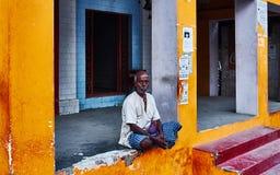 Rues de Varanasi Image stock