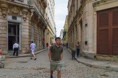 Rues de vieille La Havane image stock