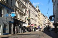 Rues de Vienne images libres de droits