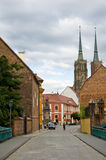 Rues de Wroclaw Photo stock