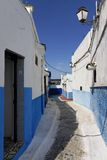 Rues du Kasbah Oudayas photos stock