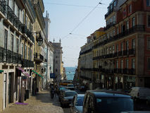 Rues du Portugal Image libre de droits