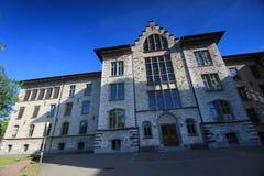 Rues et bâtiments d'Aarau, Suisse Photographie stock