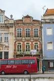 Rues et façades d'Aveiro, Portugal photographie stock libre de droits