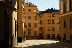 Rues médiévales dans la vieille ville photo libre de droits