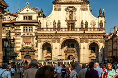 Rues médiévales, Prague Photographie stock libre de droits