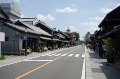 Rues principales d'Oikinawa Naha du Japon images libres de droits