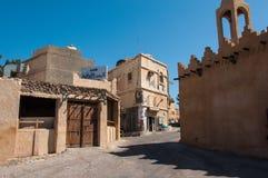 Rues tranquilles d'île de Tarout, Arabie Saoudite Photographie stock