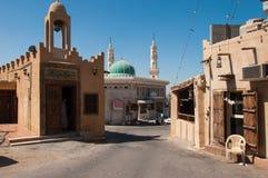 Rues tranquilles d'île de Tarout, Arabie Saoudite Photos libres de droits