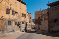 Rues tranquilles d'île de Tarout, Arabie Saoudite Image stock