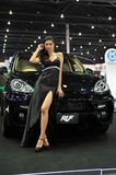 RUF Modified Porsche Cayenne. BANGKOK - DECEMBER 12: RUF modified Porsche Cayenne Diesel body and chasis on display at the Thailand International Motor Expo at Stock Photos