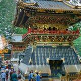 Rufe a torre (Koro) no santuário de Tosho-gu em Nikko, Japão foto de stock