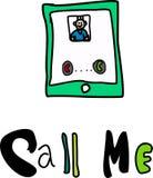 Rufen Sie mich? Stockfoto