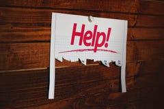 Rufen um Hilfe Lizenzfreie Stockfotos