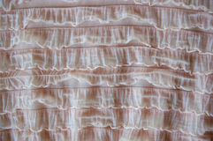 Ruffled material texture Royalty Free Stock Images