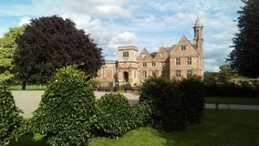 Rufford Abbey Ruins Nottinghamshire foto de archivo libre de regalías