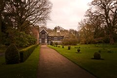 Rufford Old Hall Royalty Free Stock Photo
