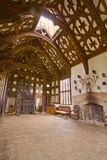Rufford Old Hall Royalty Free Stock Photography