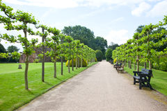 Rufford Park Abbey and Gardens Stock Photography