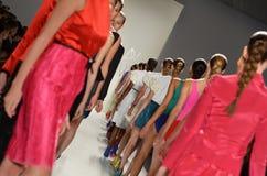 Rufião - desfile de moda de New York Imagem de Stock Royalty Free
