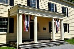 纽约:对Rufus 1750国王的入口House 库存图片