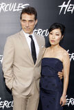 Rufus Sewell and Ami Komai Stock Photography