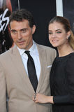 Rufus Sewell & Barbara Palvin Royalty Free Stock Photo