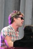 Rufus Wainwright-Ausführung Live an Festival Cruilla Barcelona lizenzfreies stockbild
