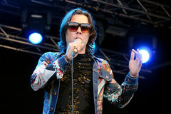 Rufus Wainwright (band) performs at San Miguel Primavera Sound Festival Royalty Free Stock Photos