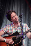 Rufus Wainwright performing live at Cruilla Barcelona Festival. Stock Photo