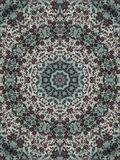 Rug. Illustrated rug design Royalty Free Stock Photography