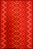 Rug. Colorful rug, hand made at Oaxaca, Mexico Royalty Free Stock Image
