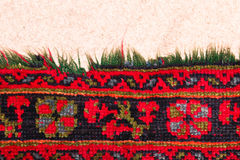 Rug pattern Stock Images