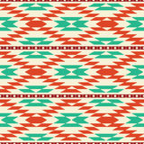 Rug pattern. Rug geometric abstract tribal background seamless pattern Stock Image