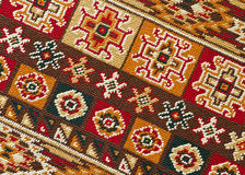 Rug pattern Royalty Free Stock Images