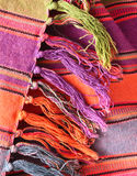 Rug tassels Stock Photo