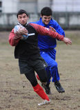 Rugby�s Albanian national team born in Italy Stock Photo